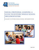 NYSED Guide to Systemic Whole School SEL