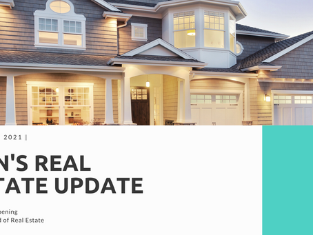 Ben's Real Estate Update January 2021