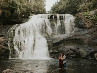 Emily + Douglas | Chasing Waterfalls