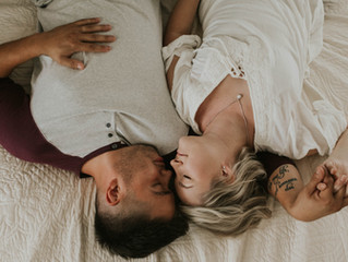 Jake + Courtney | Home Session