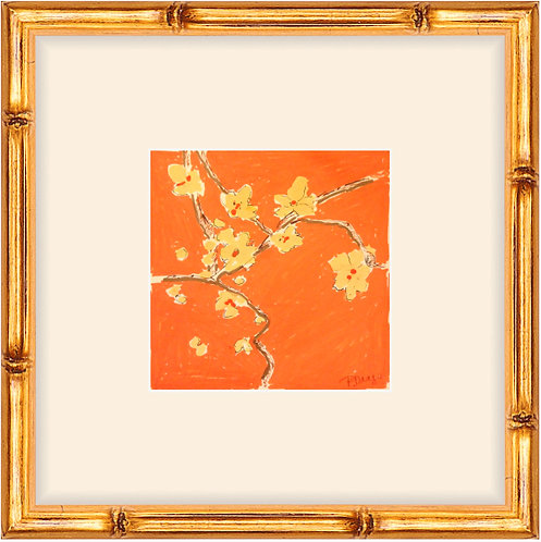 Orange Blossom I -framed print