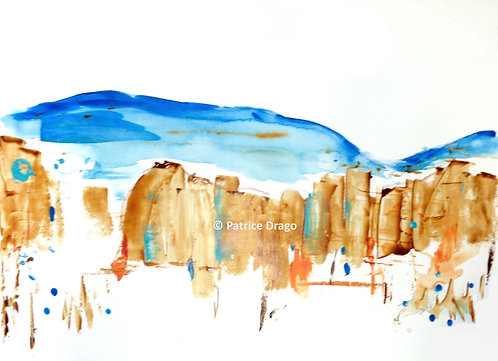 """Ghost Ranch 3, 30"""" x 22"""""""