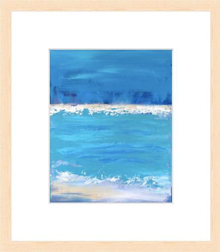 Sandbar - framed print