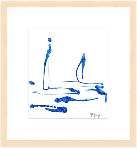 Floating - framed print