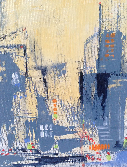 """Hot Town; Summer in the City, 5"""" x8"""""""