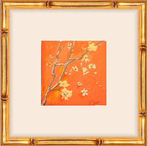 Orange Blossom II -framed print