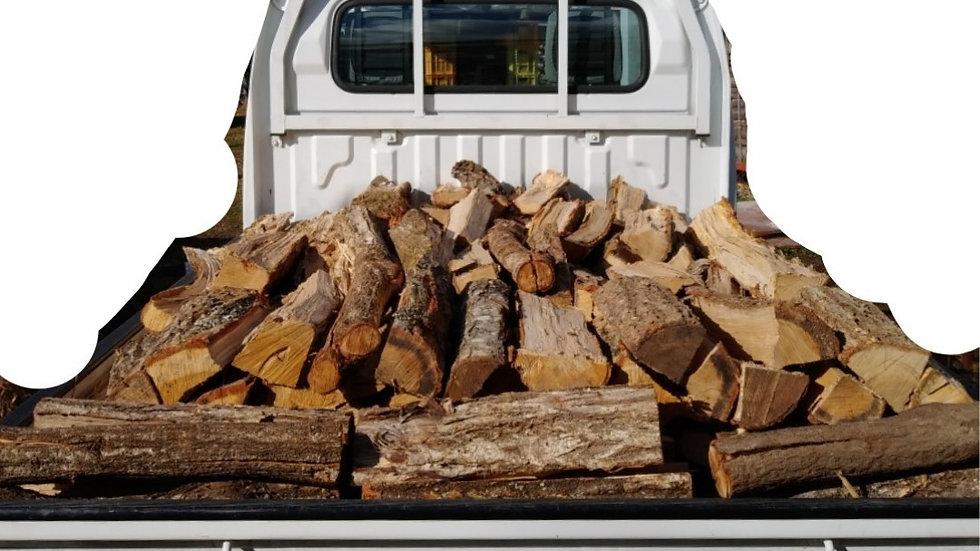 「自社配達商品」ナラの乾燥薪1500kg 焚き付けセット