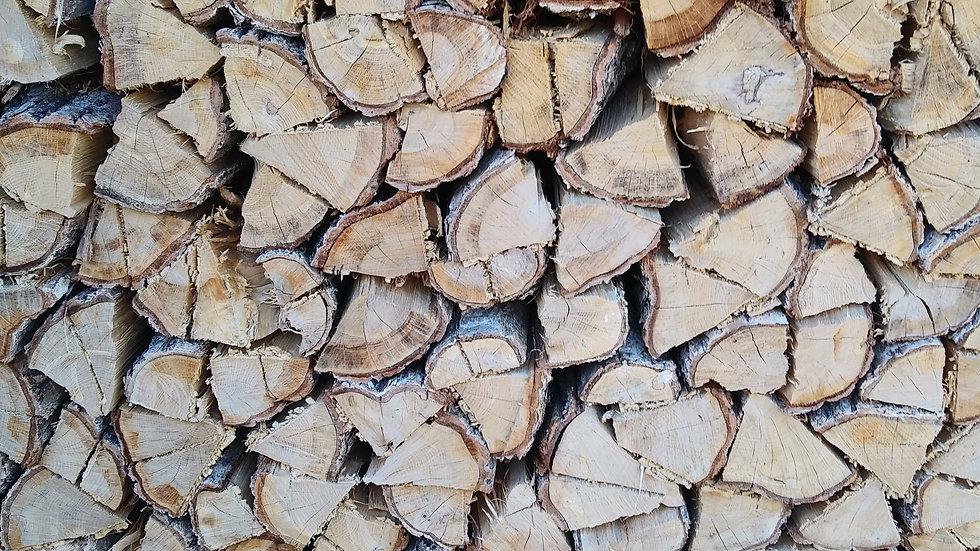 「ヤマト運輸配送商品」ナラの乾燥薪400㎏