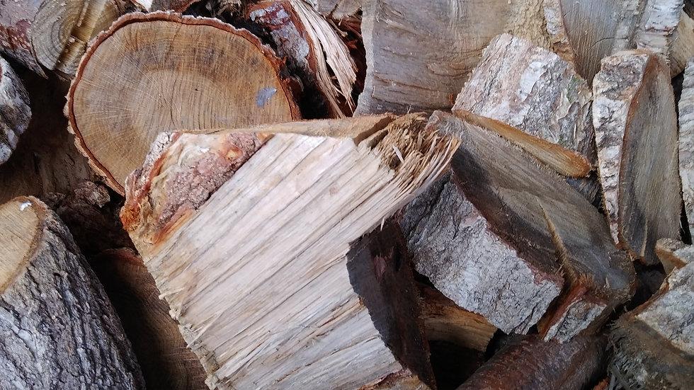 「ヤマト運輸配送商品」広葉樹の端材薪(乾燥済)