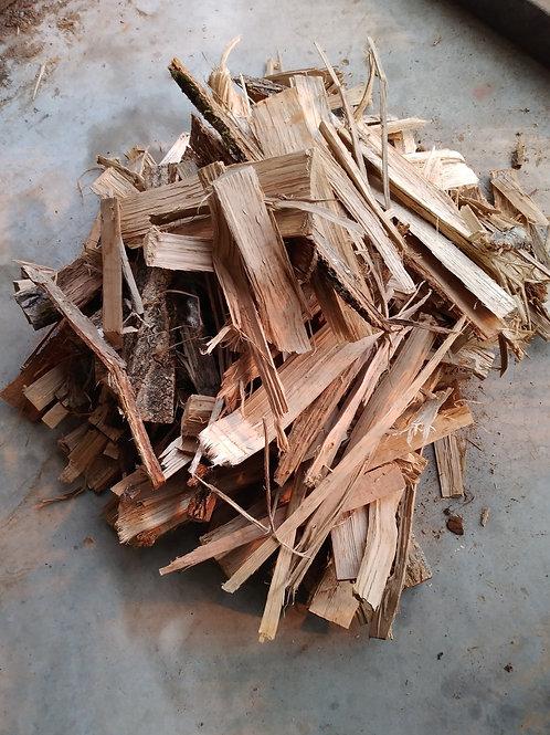「現地取引限定商品」焚き付け30㎏用米袋一袋