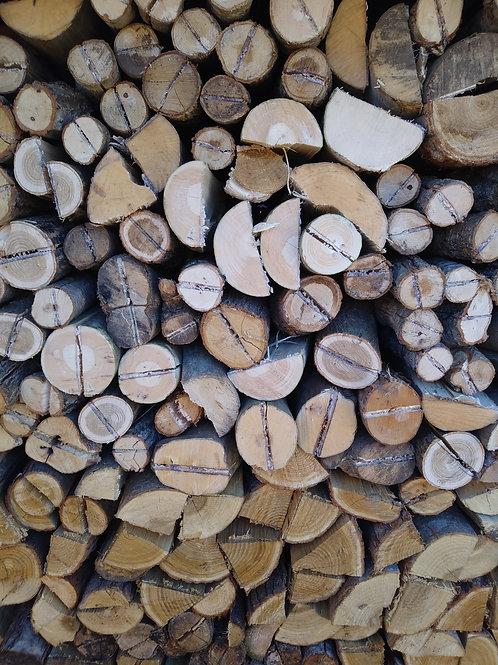 「ヤマト運輸配送商品」広葉樹の乾燥薪