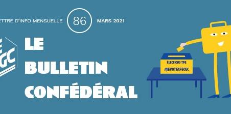 Le Bulletin confédéral n°86