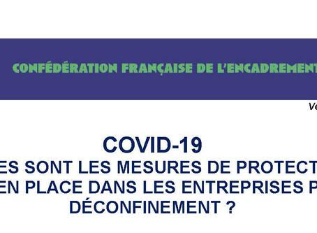 COVID-19  PROTOCOLE DE DE-CONFINEMENT mise à jour le 7 mai 2020
