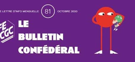 INFORMATION CONFEDERALE - Le Bulletin confédéral n°81