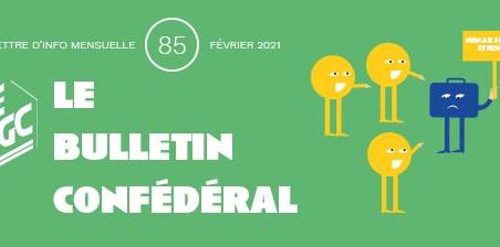 Le Bulletin confédéral n°85