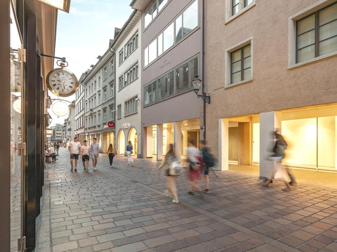Zum Roten Löwen: Marktgasse 72, Winterthur