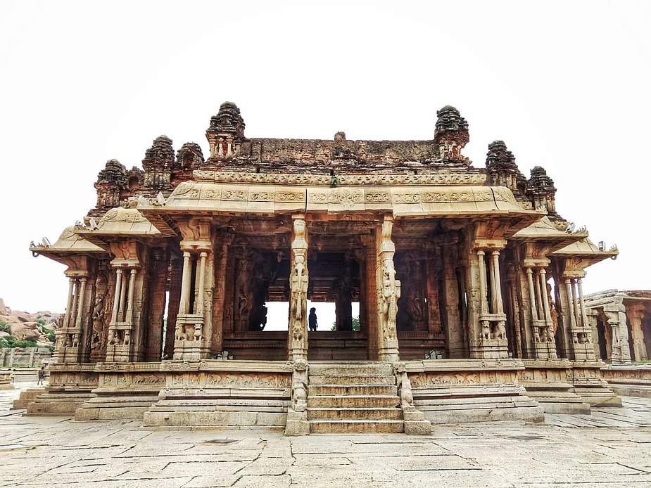 Vittala Temple, Hampi, Karnataka, India.