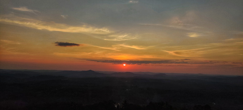 Sunset, Jatayu Earth's Centre, Kollam