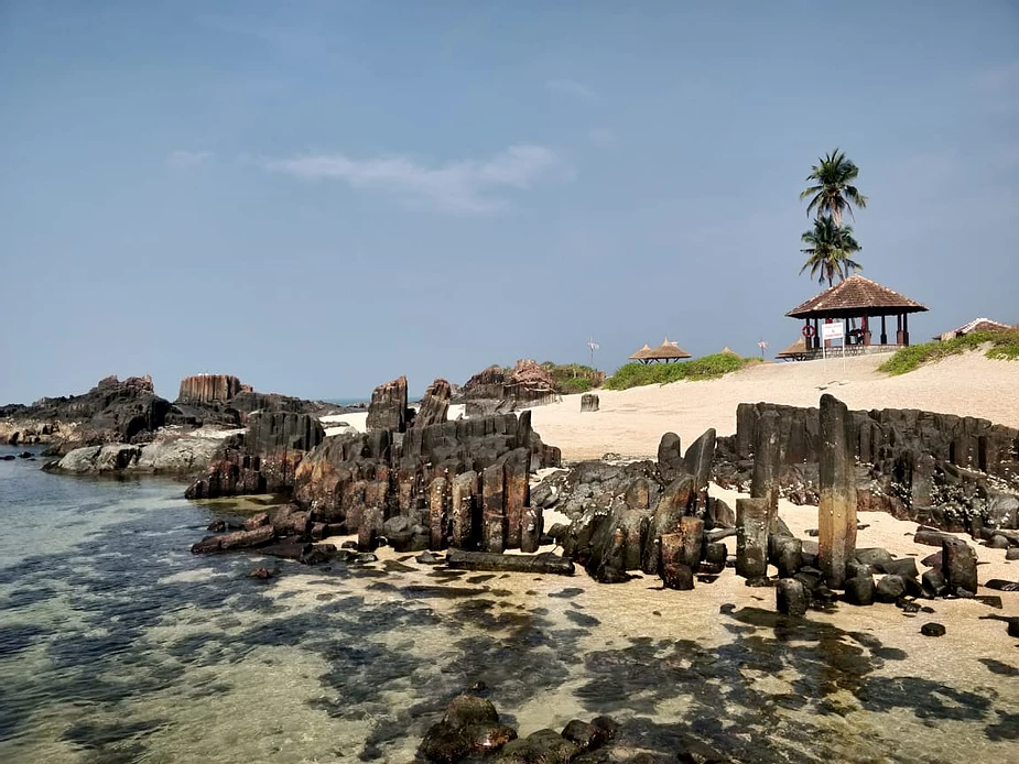 St Mary's Island, Udupi, Karnataka, India.