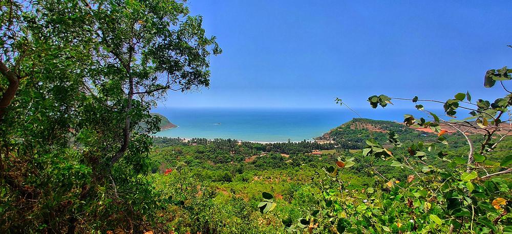 Kudle view point, Kudle beach road, Gokarna, Karnataka