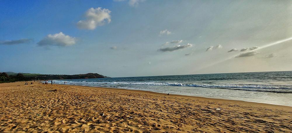 Gokarna beach road, Gokarna beach, Middle beach, Gokarna, Karnataka