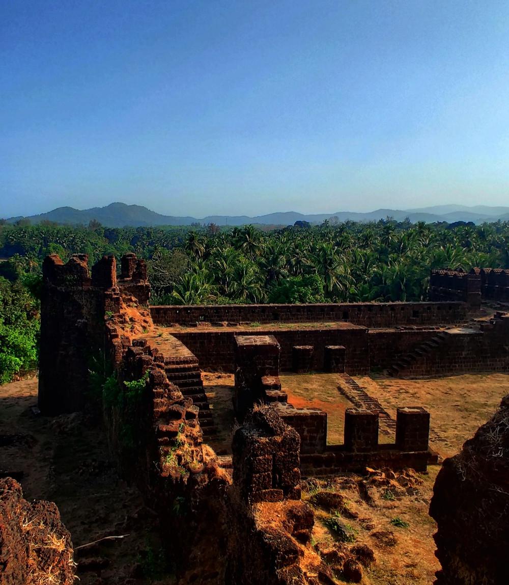 Mirjan fort, Gokarna, Uttara Kannada, Karnataka