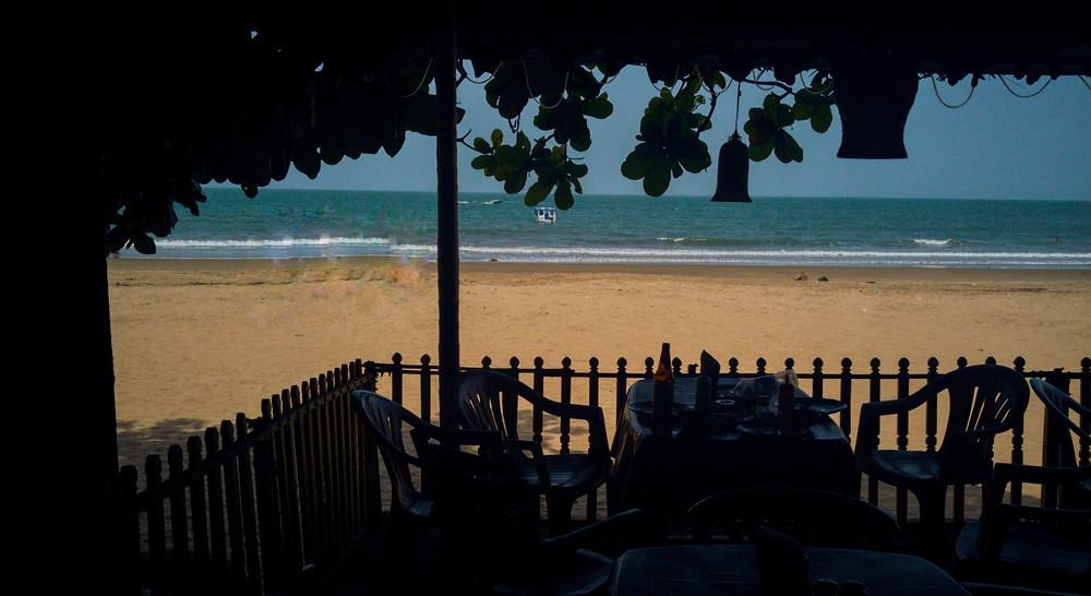 Sunset Cafe, Kudle beach, Gokarna, Karnataka