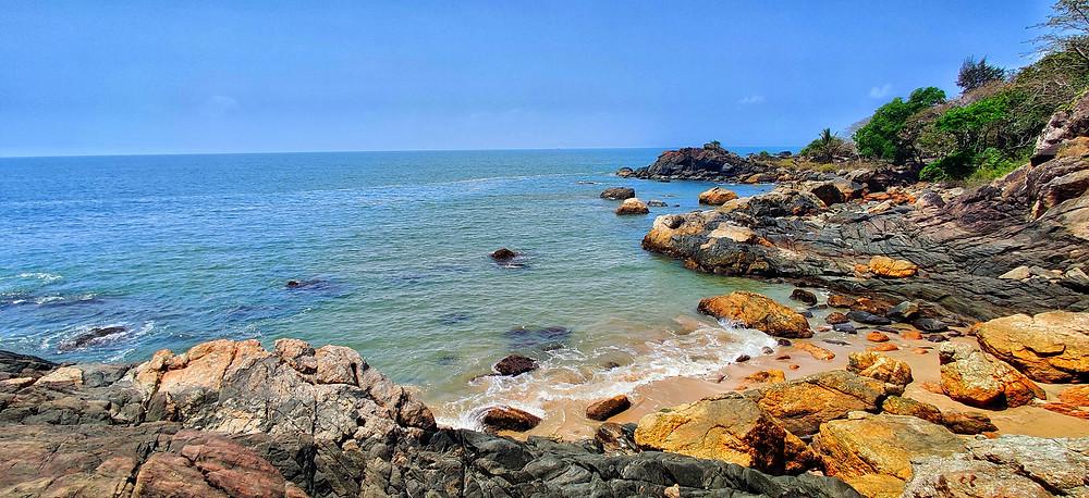 Gokarna beach trek, Paradise beach, Gokarna, Karnataka