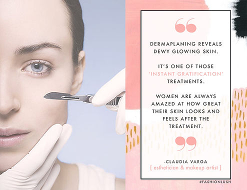 affordable Dermaplaning facial treatment middlesbrough Aspire Hairdressing & Beauty Salon