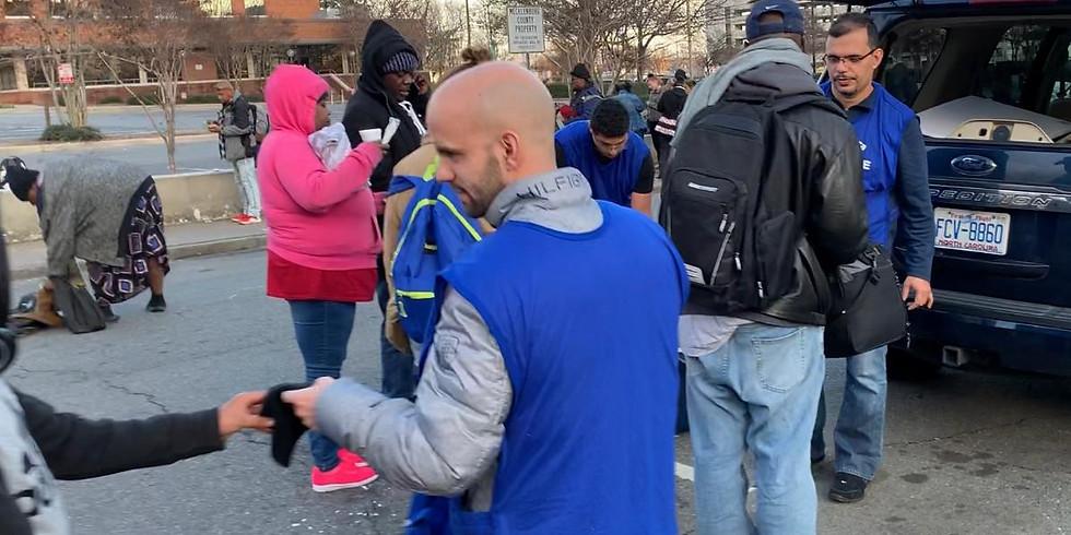 Serving the homeless - Men's Shelter of Charlotte