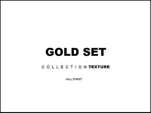 Текстуры коллекции GOLD SET для 3d
