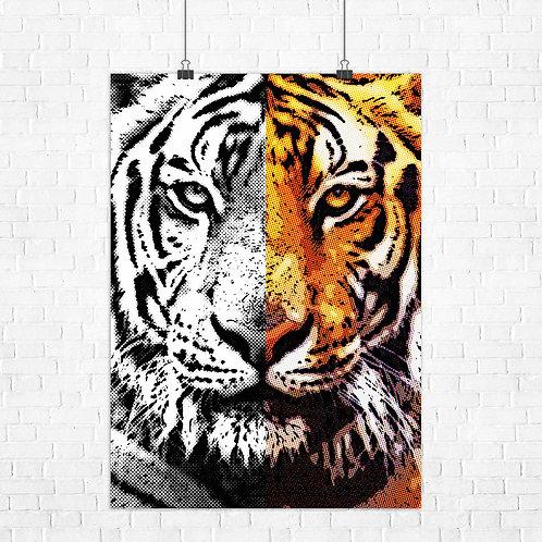 Картина на холсте Личность хищника
