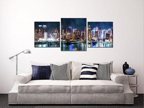 Модульная картина New York