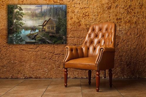 Картина на холсте Лесная идилия