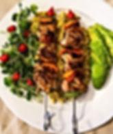 Chicken Shish Kebab tonight. Video Recip