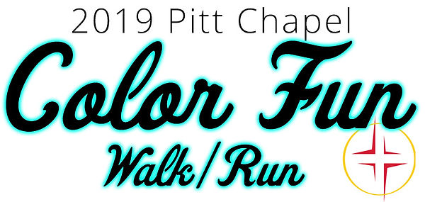 2019 Pitt Chapel Colr Fun Walk/Run