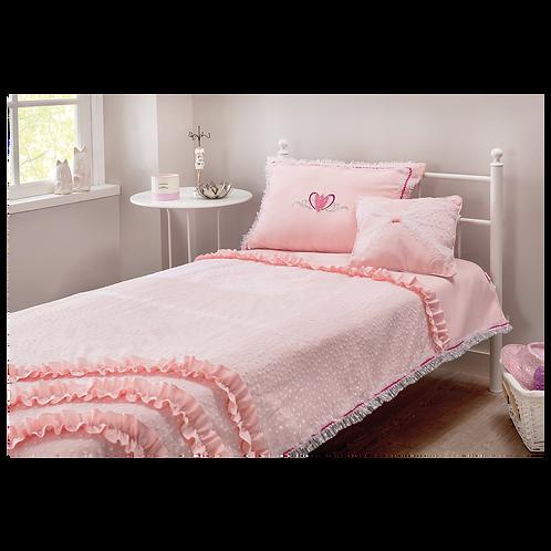 Rosa Yatak Örtüsü (90-100 Cm)