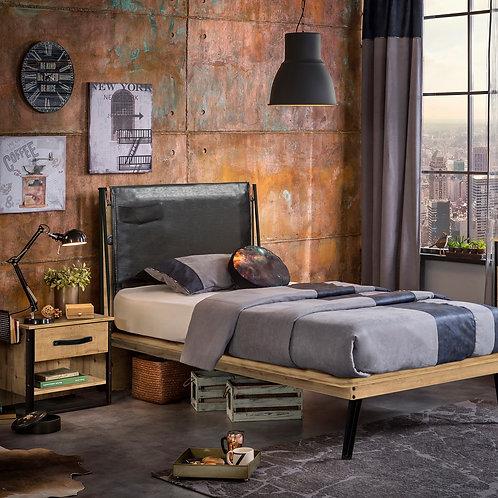 Wood Metal Genç Odası