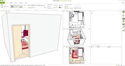 Yakut Genç Odası 3D tasarım