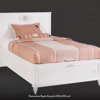 Romantica Bazalı Karyola (120x200cm)