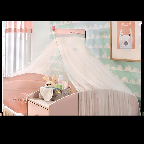 Baby Girl Cibinlik (80x130cm)