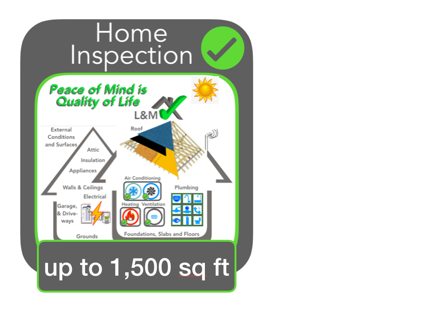 Home Inspection <1500 sq ft