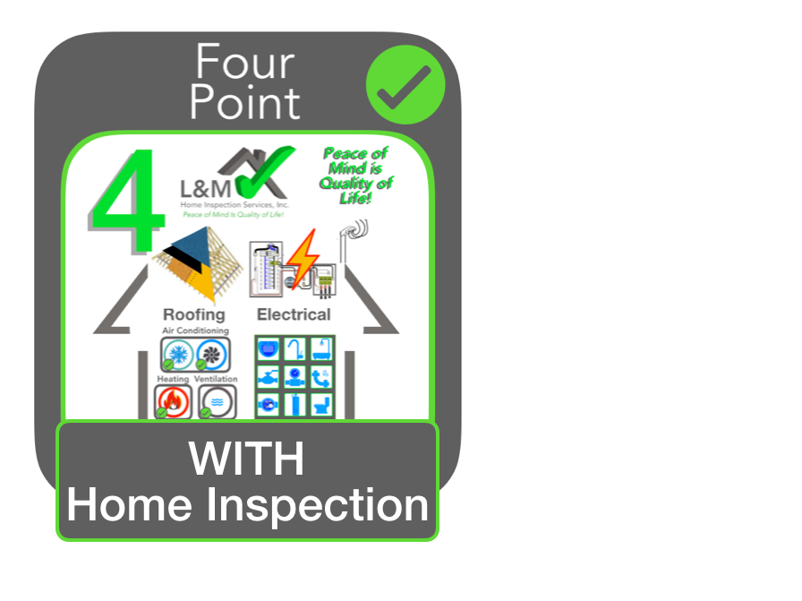 Four Point WITH HOME INSPECTION