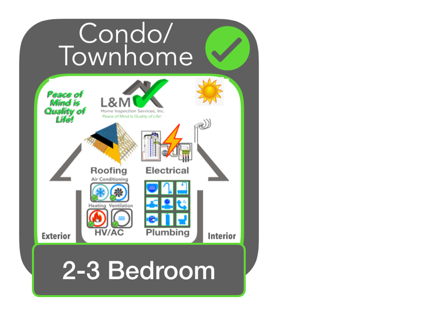 2-3 BR Townhome Inspection