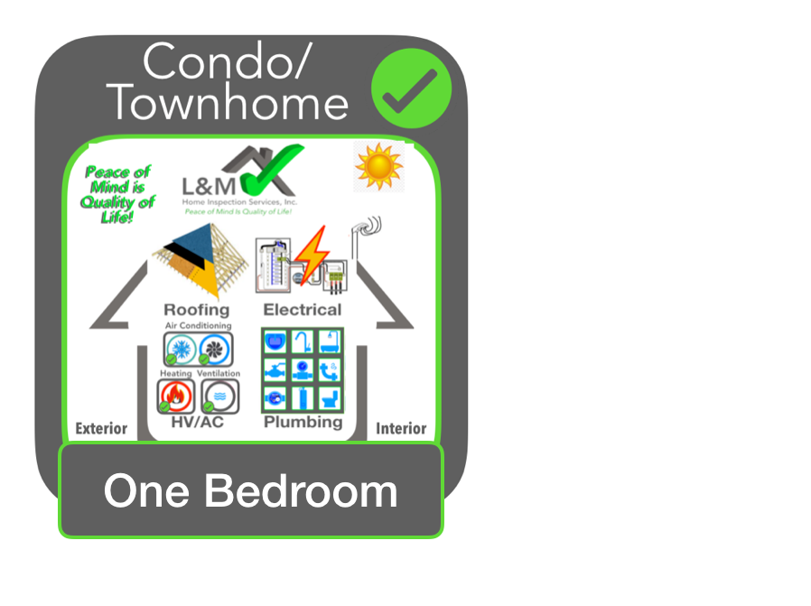 1 BR Townhome/Condo Inspection