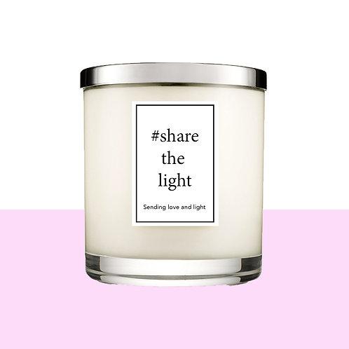 #Sharethelight Candle