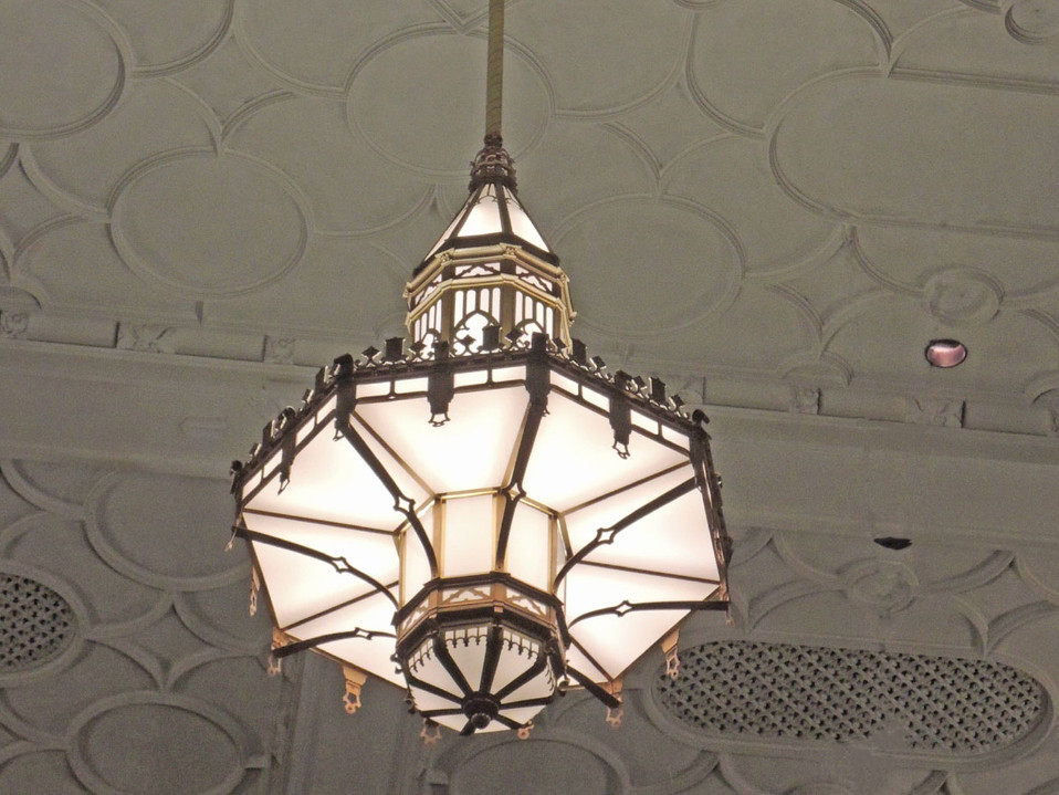 BROOKLYN TECHNICAL HS CHANDELIER