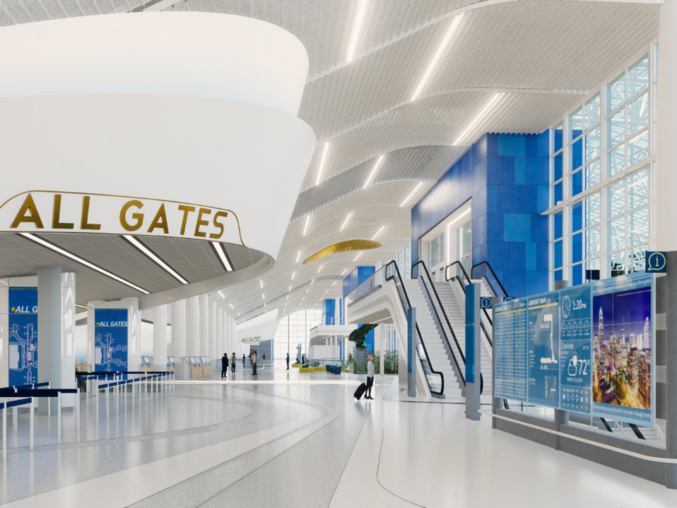 CHARLOTTE-DOUGLAS INTERNATIONAL AIRPORT TERMINAL LOBBY EXPANSION