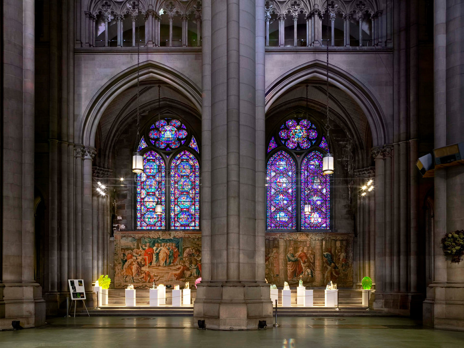 CATHEDRAL CHURCH OF ST. JOHN THE DIVINE CRYSTAL EXHIBIT