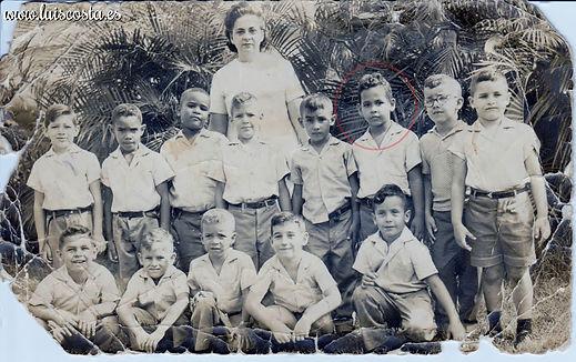 Luis Costa en la escuela primaria
